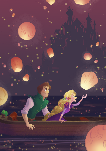 """Tangled"" shameless fan art"