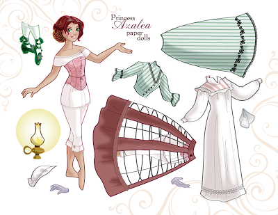 Princess Paper Dolls